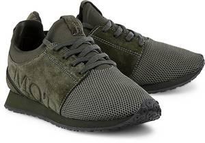 Freizeit-Sneaker von Marc O'Polo in khaki für Damen. Gr. 37,38,39,40,41