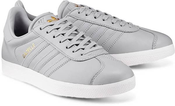 Sneaker Gazelle von Adidas Originals in grau für Damen. Gr. 36,36 2/3,38