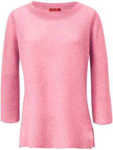 Rundhals-Pullover aus 100% Kaschmir Laura Biagiotti Donna rosé