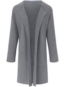Strickjacke überschnittener Schulter DAY.LIKE grau