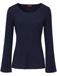 Pullover aus 100% Kaschmir Laura Biagiotti Donna blau