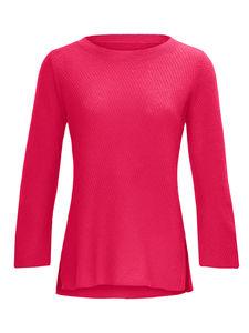 Rundhals-Pullover aus 100% Kaschmir Laura Biagiotti Donna pink