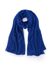 Schal aus 100% Kaschmir Laura Biagiotti Donna blau