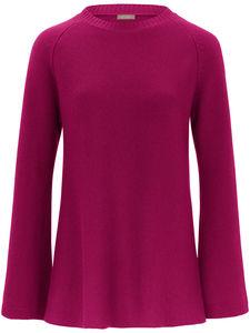 Rundhals-Pullover aus 100% Kaschmir include pink