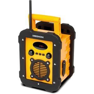 MEDION LIFE® E66262, Freizeitradio, Spritzwassergeschützt, Bluetooth-Funktion, IP44, LED-Display, PLL UKW Radio (B-Ware)