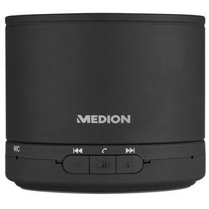 MEDION LIFE® E61500 Bluetooth Lautsprecher, LED-Anzeige, 2,8 Watt RMS, Bluetooth 4.1, Freisprechfunktion, bis zu 15 Stunden Akkulaufzeit