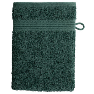 Waschhandschuh KRONBORG® Classic Line (16x21, dunkelgrün)