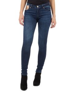 Damen Skinny Fit Jeans mit Pailletten