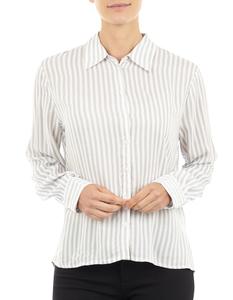 Damen Bluse mit Streifenmuster