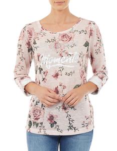 Damen Pullover mit floralem Muster