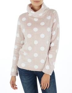 Damen Sweatshirt aus Teddyfell