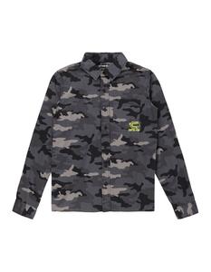Jungen Hemd mit Camouflage-Muster