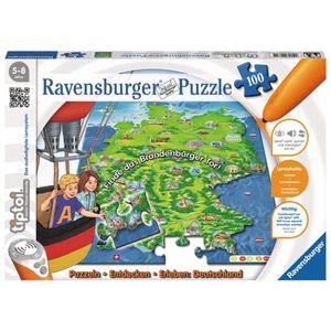 tiptoi® Puzzle Deutschland, 100 Teile