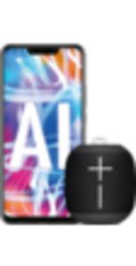 Huawei Mate20 lite black + Ultimate Ears Wonderboom black mit Flat Allnet Comfort