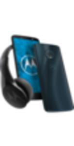 Motorola Moto G6 32GB Deep Indigo + Bluetooth Kopfhörer mit Free S