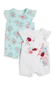 Strampler für Neugeborene, 2er-Pack