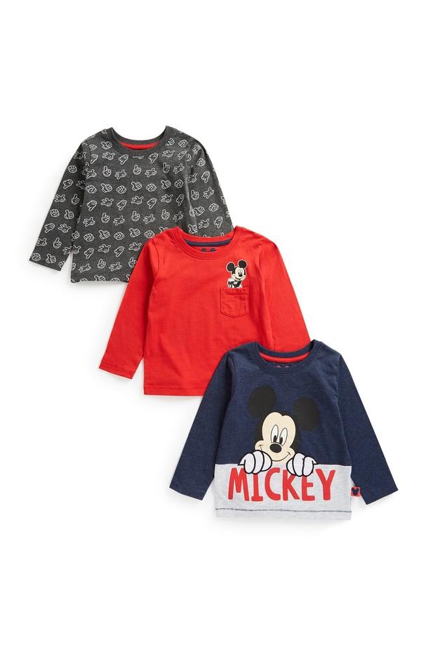 """""""Micky Maus"""" Top für Babys (J), 3er-Pack"""