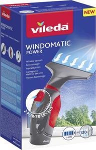Vileda Windowmatic POWER Fenstersauger Grau, Rot