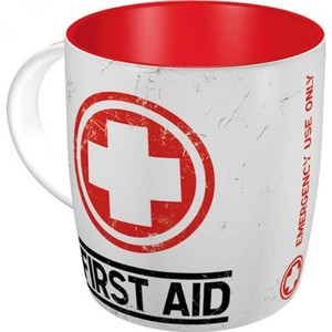 Nostalgic-Art            Tasse First Aid - Classic