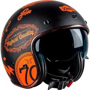 Dexter            Element DMC schwarz/orange Dekor
