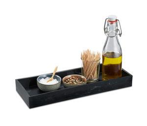 Küchenablage in Marmoroptik
