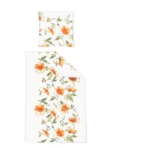 IRISETTE Jersey-Bettwäsche LUNA 135 x 200 cm in Orange