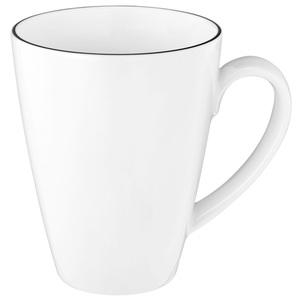 Seltmann Weiden Tasse 350 ml BLACK LINE Weiß