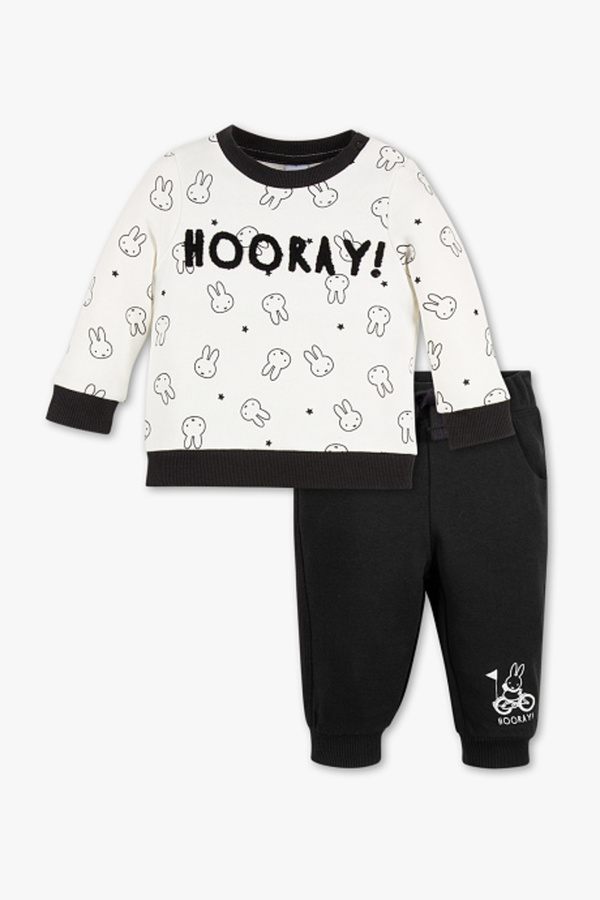 Baby Club         Miffy - Baby-Outfit - Bio-Baumwolle - 2 teilig