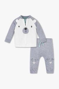 Baby Club         Erstlingsoutfit - Bio-Baumwolle - 3 teilig