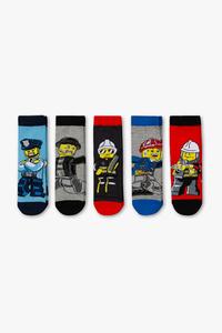Lego - Socken - 5 Paar