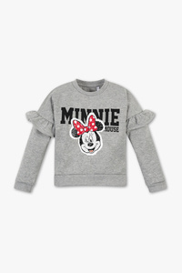 Disney Girls         Minnie Maus - Sweatshirt - Glanz Effekt