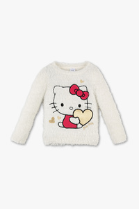 Hello Kitty - Pullover - Glanz Effekt