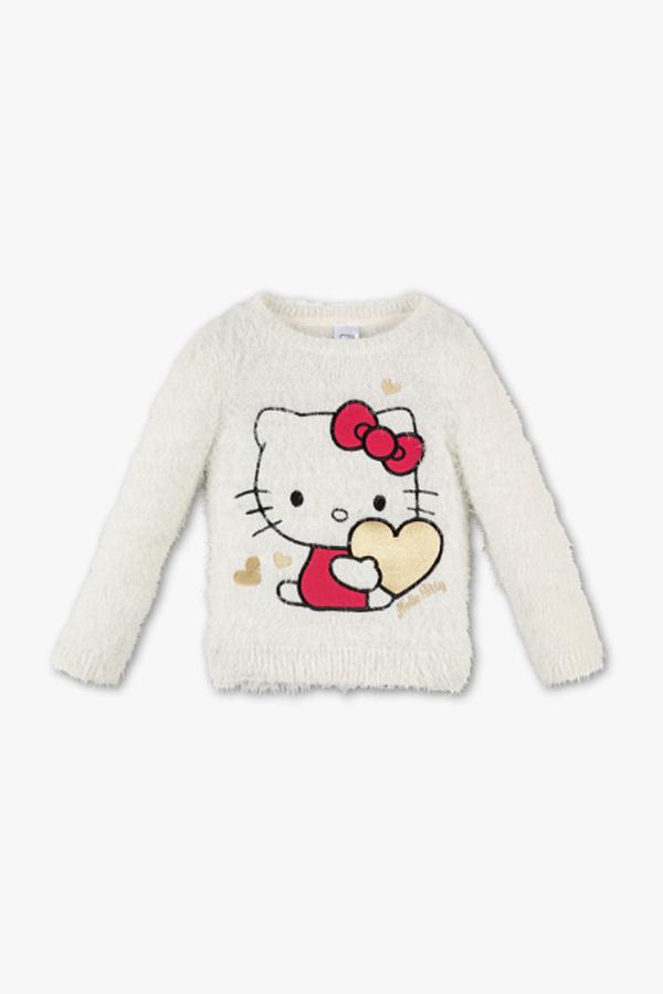 Hello Kitty - Pullover - Glanz Effekt