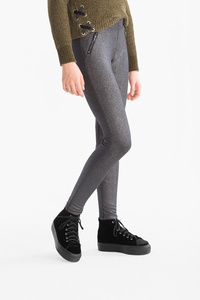 Here and There         Leggings - Glanz Effekt