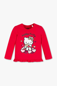 Hello Kitty - Langarmshirt - Glanz Effekt