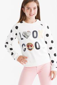 Emoji - Sweatshirt - Glanz Effekt