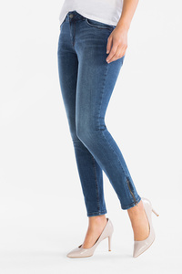 The Denim         THE SKINNY ANKLE JEANS