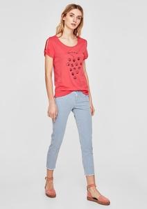 Shape Ankle: Gestreifte Jeans