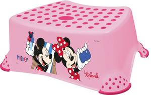 Minnie Mouse Tritthocker rosa