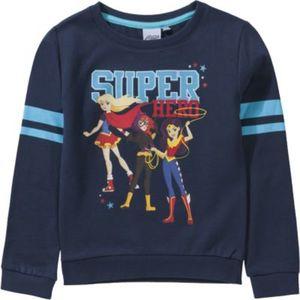 DC Super Heroes Sweatshirt Gr. 140 Mädchen Kinder
