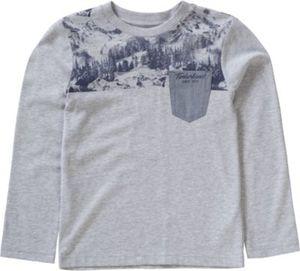 Langarmshirt mit Brusttasche Gr. 164 Jungen Kinder