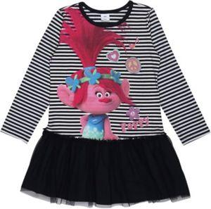 Trolls Kinder Jerseykleid mit Tüllrock Gr. 98 Mädchen Kleinkinder