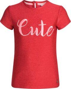 T-Shirt mit Glitzer Gr. 98/104 Mädchen Kleinkinder