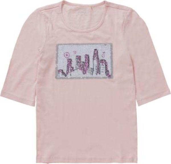 Langarmshirt mit Pailletten Gr. 164 Mädchen Kinder