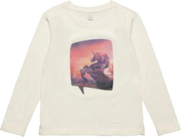 Langarmshirt unicorn Gr. 116/122 Mädchen Kinder
