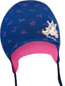 Baby Mütze zum Binden für Mädchen, Prinzessin Gr. 38-40 Jungen Baby