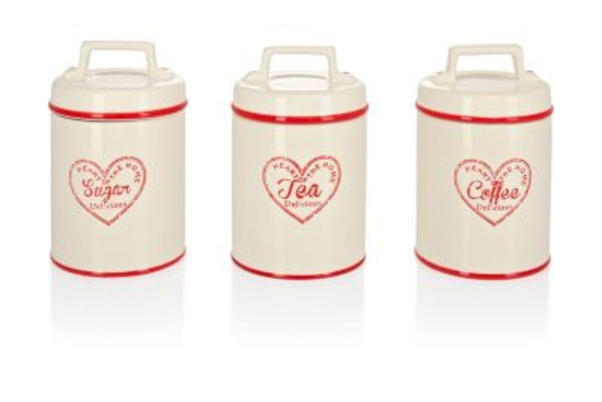 Bild 1 von Dosen für Kaffee, Tee, Zucker, 3er-Set
