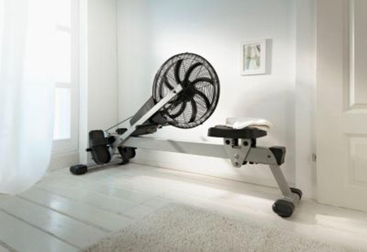 """Bild 3 von Rudergerät """"Air Rower"""""""