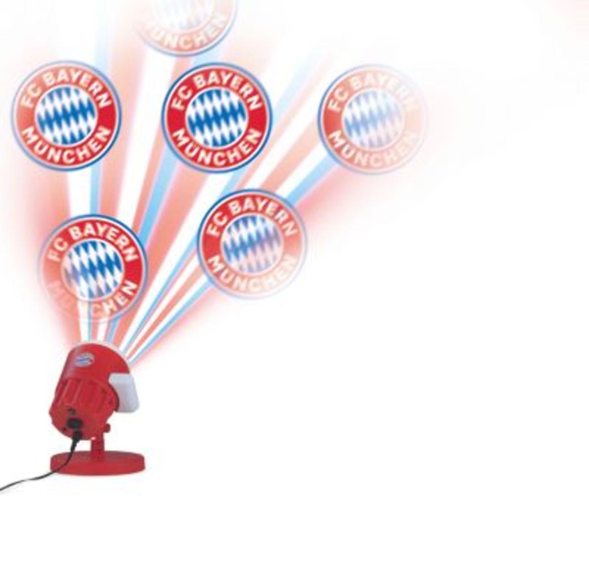 Bild 1 von FCB LED-Motivstrahler 7,5W rot mit Logo