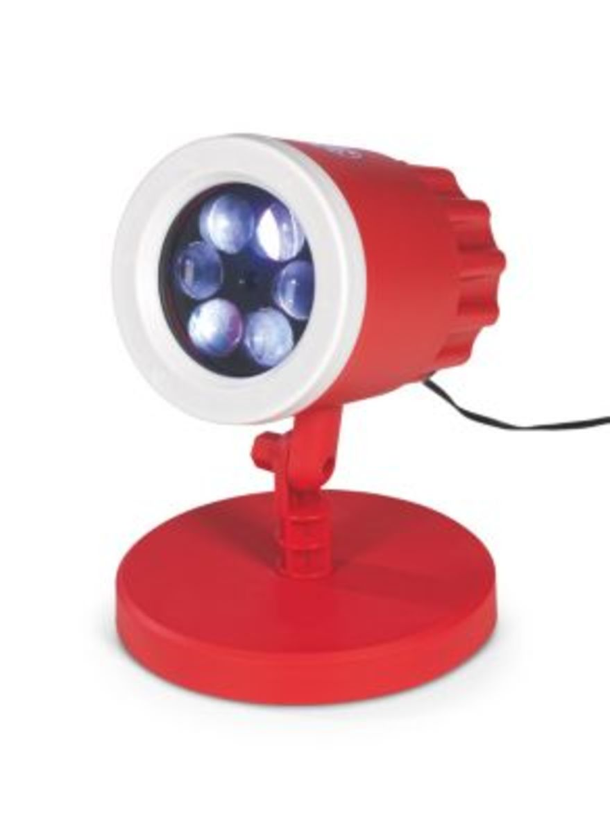 Bild 3 von FCB LED-Motivstrahler 7,5W rot mit Logo